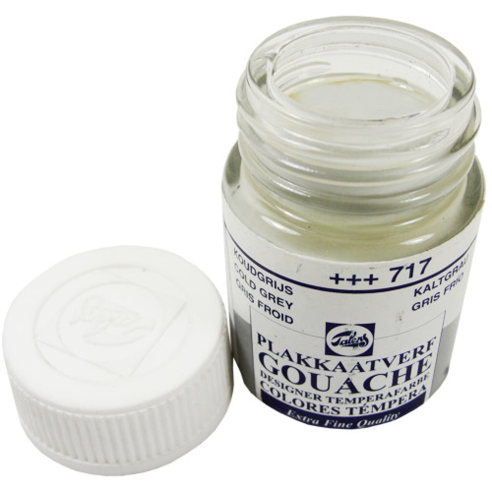 Tinta Guache Talens Extra Fine 16ml 717 Cold Grey