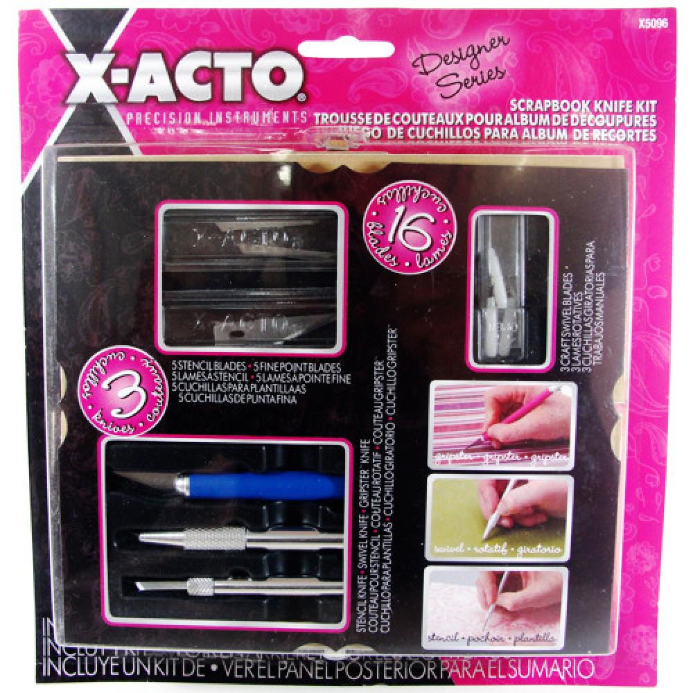 Conjunto de Estiletes Scrapbook X ACTO