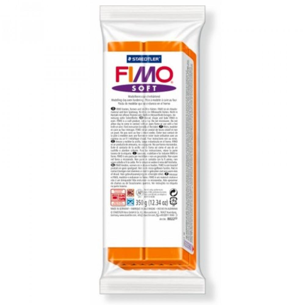 Massa Fimo Soft 42 Tangerine 350g