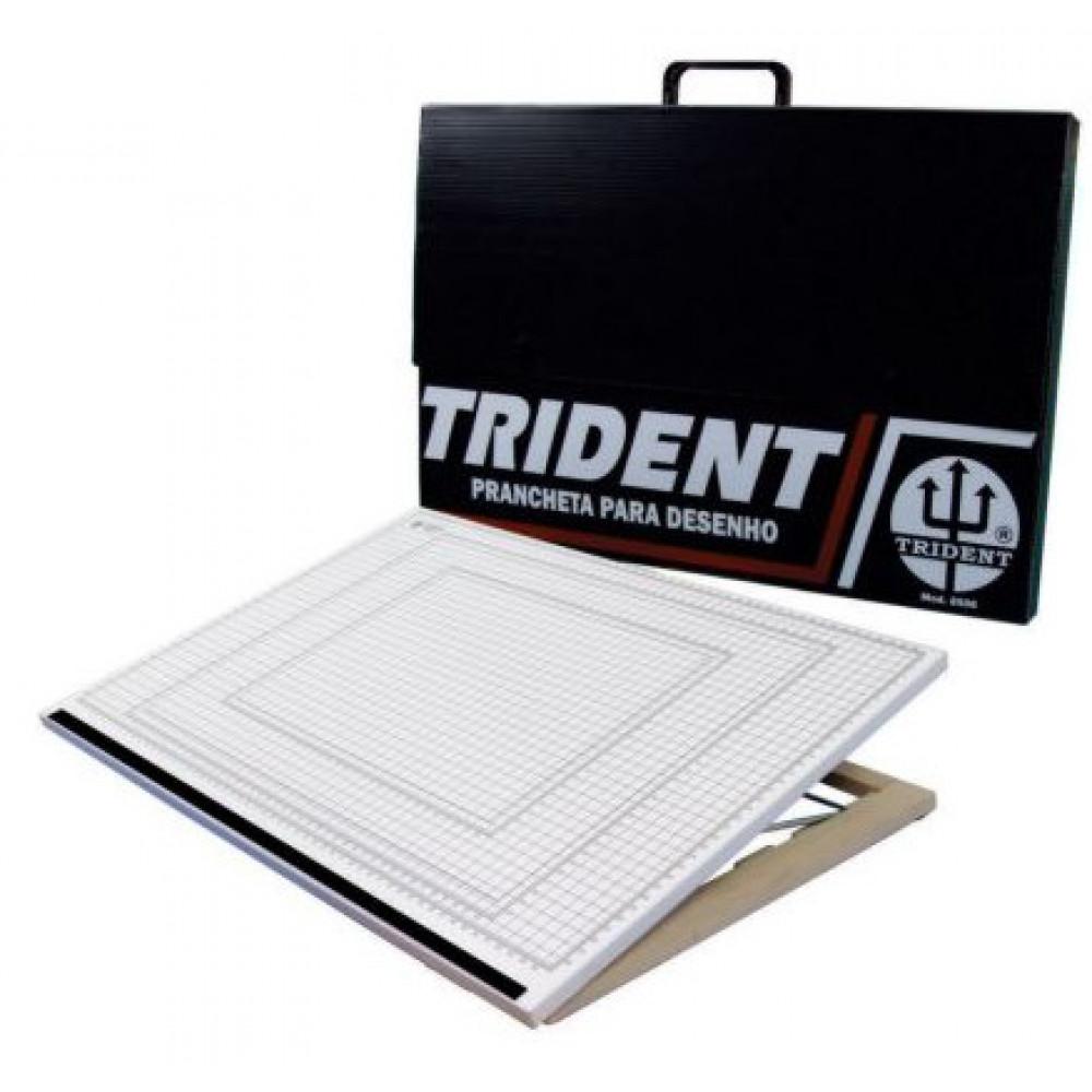 Prancheta Trident Portátil 8506 58,5x38,5cm