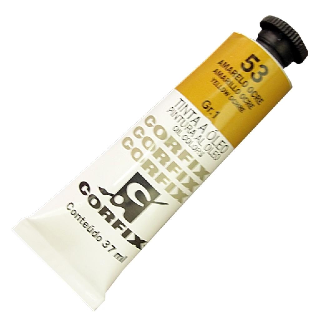 Tinta a Óleo Corfix 37ml 053 Amarelo Ocre G1