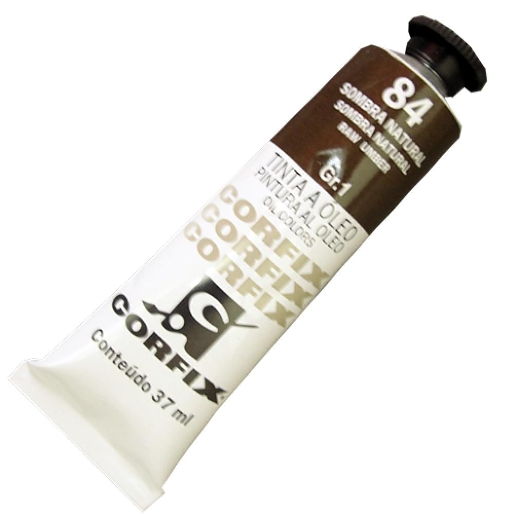 Tinta a Óleo Corfix 37ml 084 Sombra Natural G1