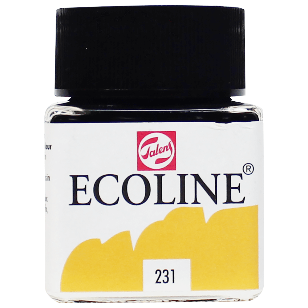 Tinta Ecoline Talens 30ml 231 Gold Ocre