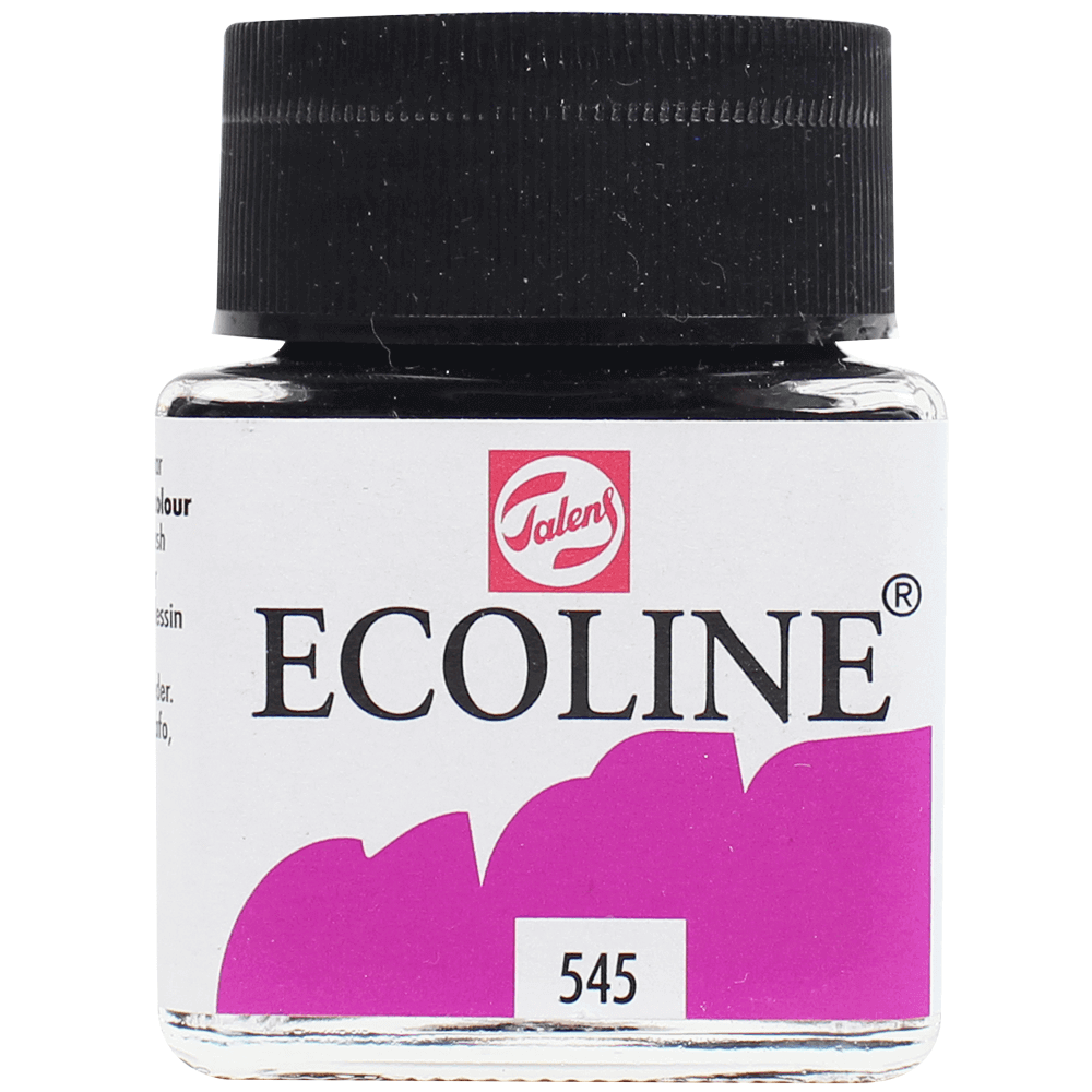 Tinta Ecoline Talens 30ml 545 Red Violet