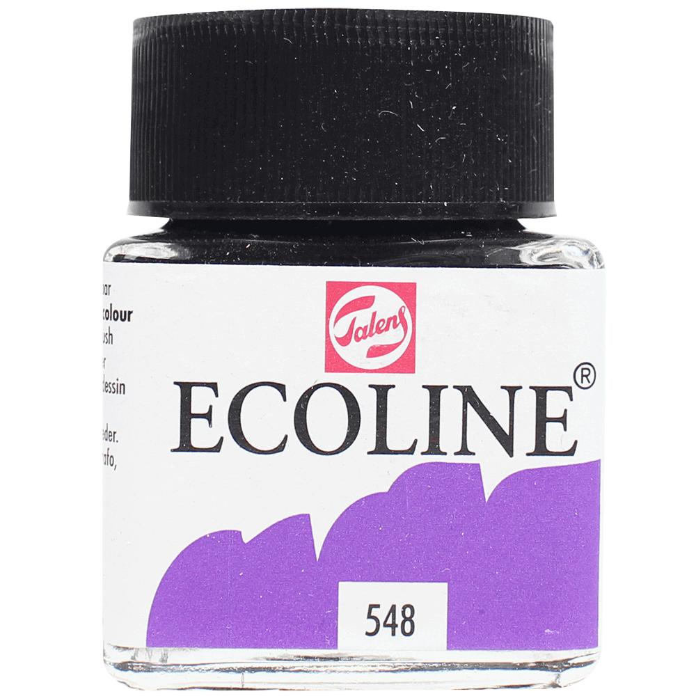 Tinta Ecoline Talens 30ml 548 Blue Violet