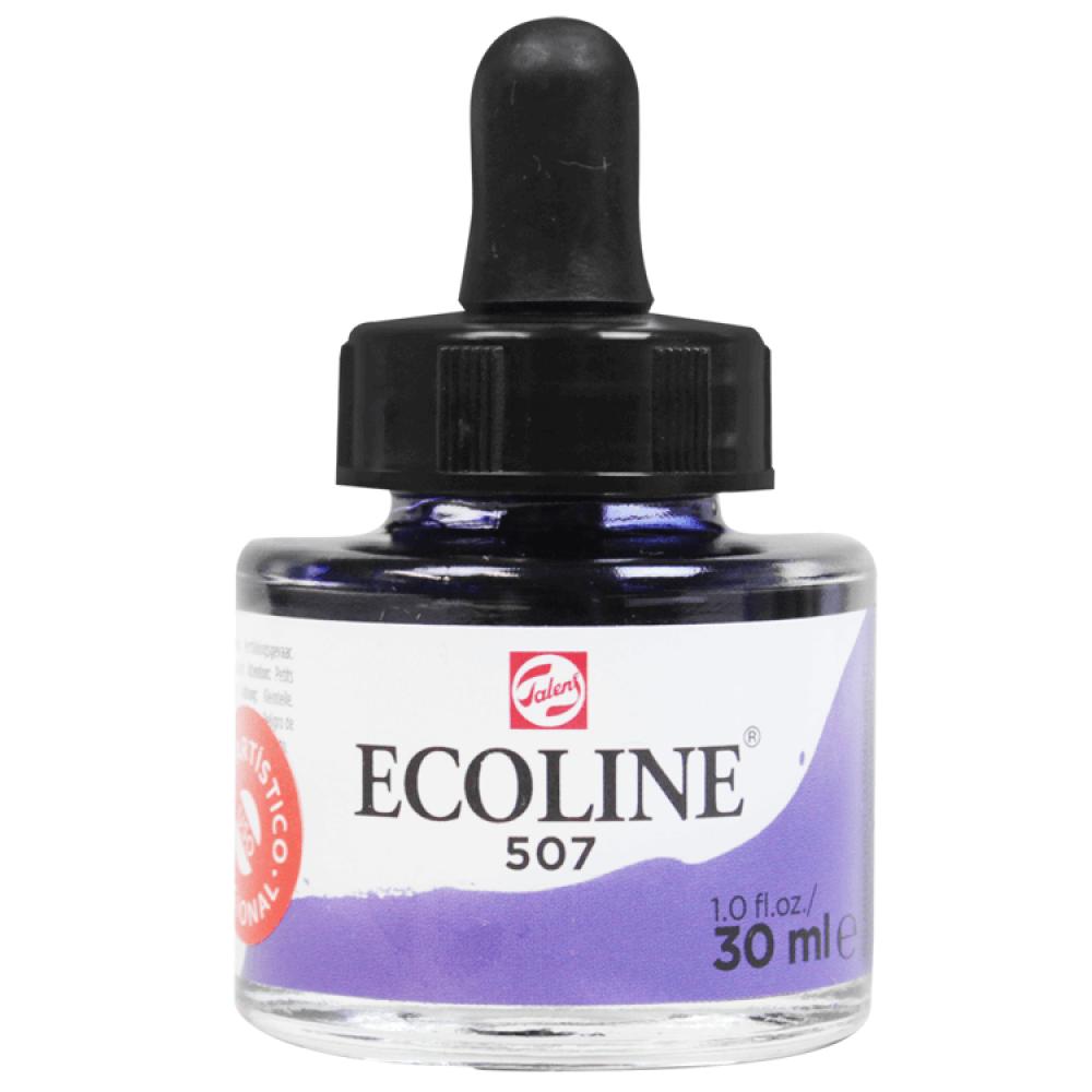 Tinta Ecoline Talens 30ml 507 Ultramarine Violet