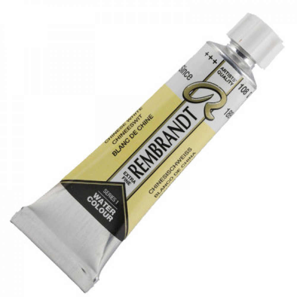 Tinta Aquarela Talens Rembrandt 5ml S1 108 Branco da China