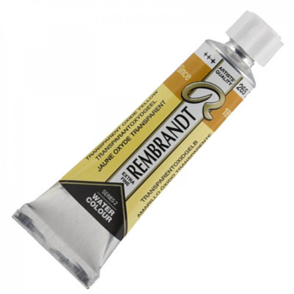 Tinta Aquarela Talens Rembrandt 5ml S2 265 Amarelo Óxido Transp.