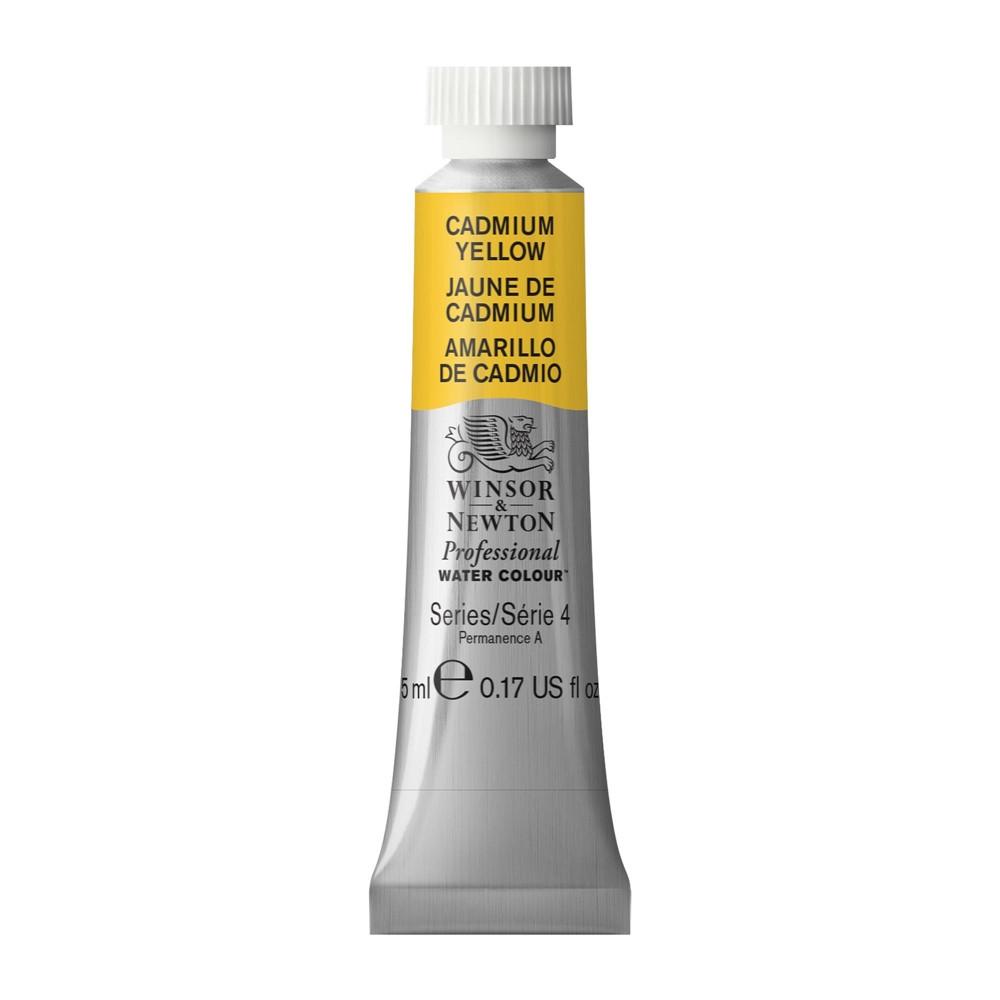 Tinta Aquarela Winsor & Newton Profissional Tubo 5ml S4 108 Cadmium Yellow