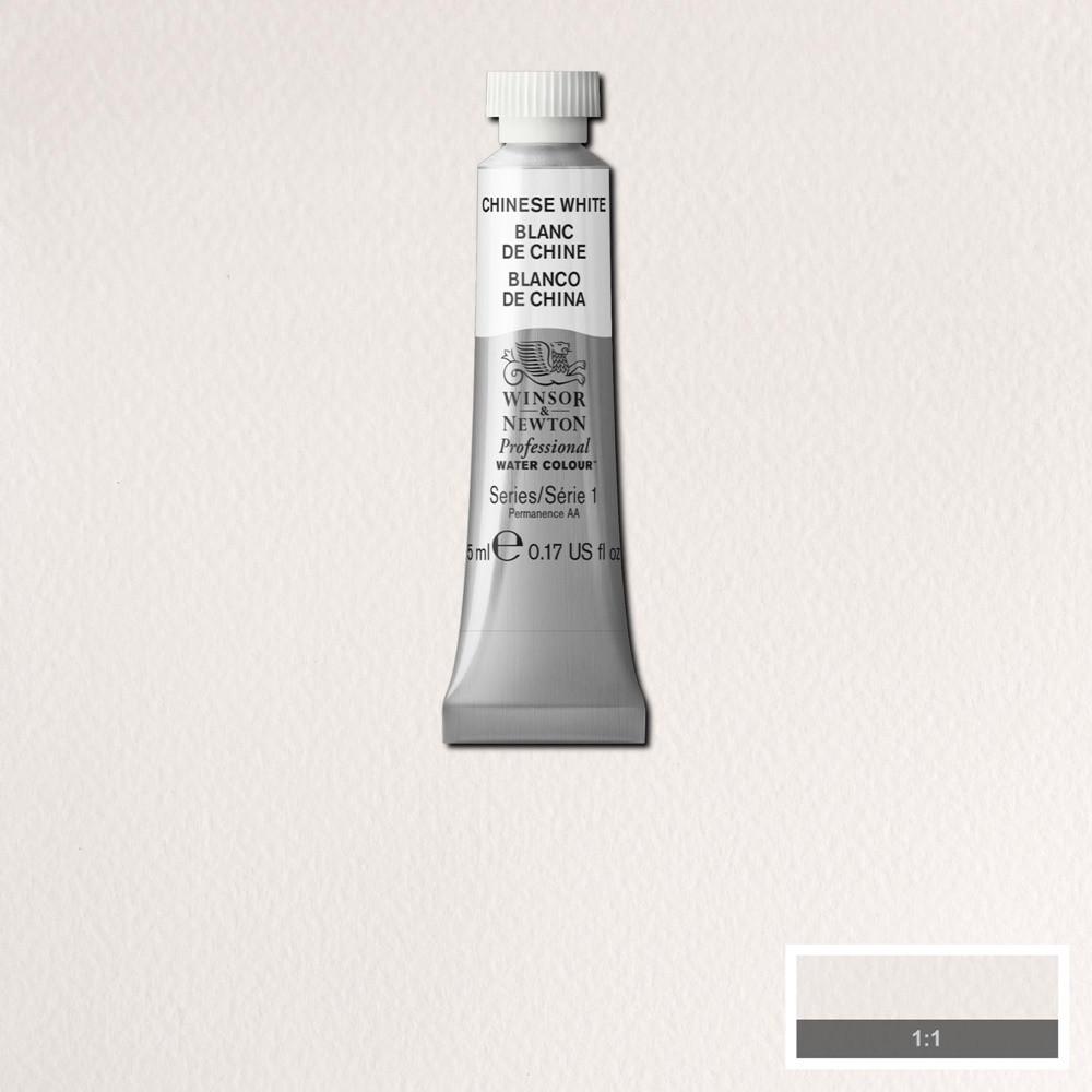 Tinta Aquarela Winsor & Newton Profissional Tubo 5ml S1 150 Chinese White