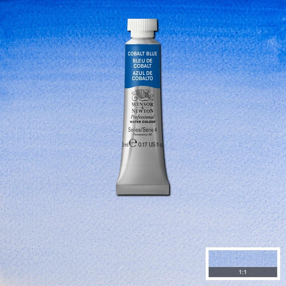 Tinta Aquarela Winsor & Newton Profissional Tubo 5ml S4 178 Cobalt Blue