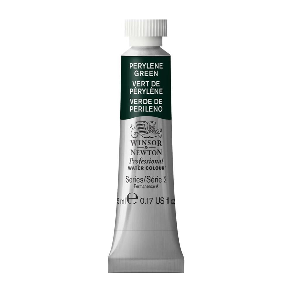 Tinta Aquarela Winsor & Newton Profissional Tubo 5ml S2 460 Perylene Green