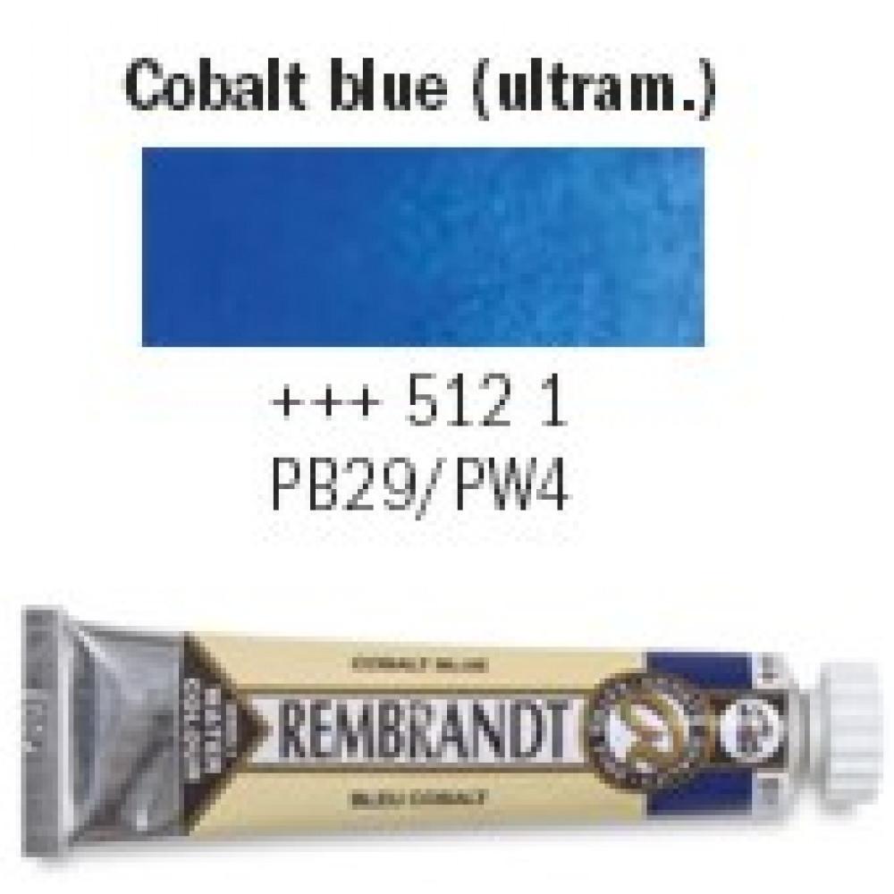 Tinta Aquarela Talens Rembrandt 5ml S1 512 Azul Ultramar Escuro