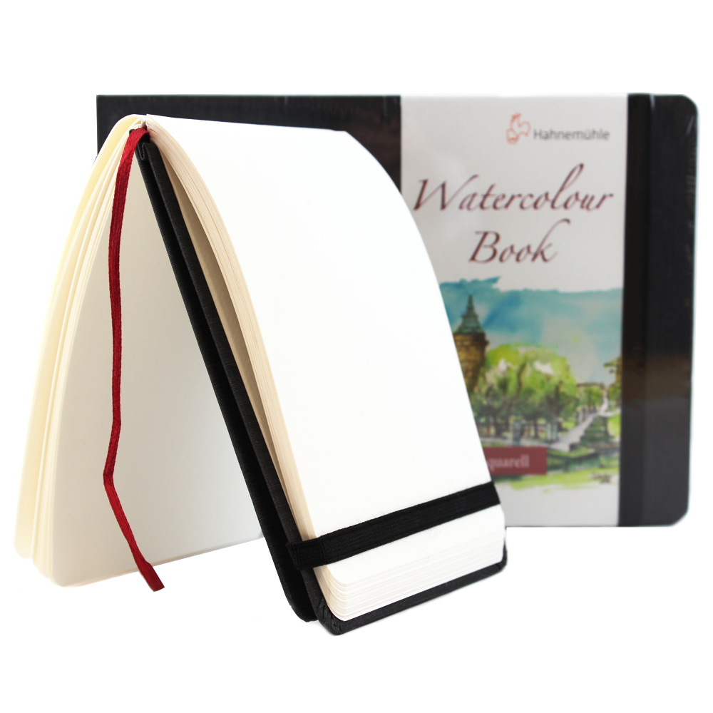 Bloco Sketchbook Para Aquarela Hahnemühle 200g/m² A4