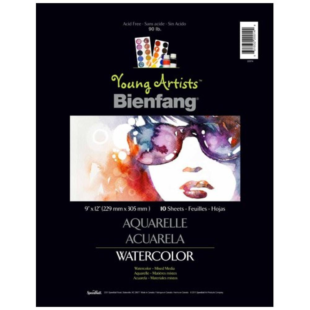 Papel Para Aquarela Bienfang Young Artists 22,9x30,5cm