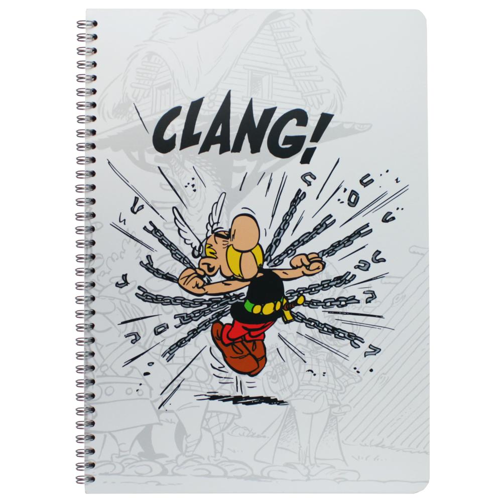 Caderno Clairefontaine A4 Asterix Guerreiro
