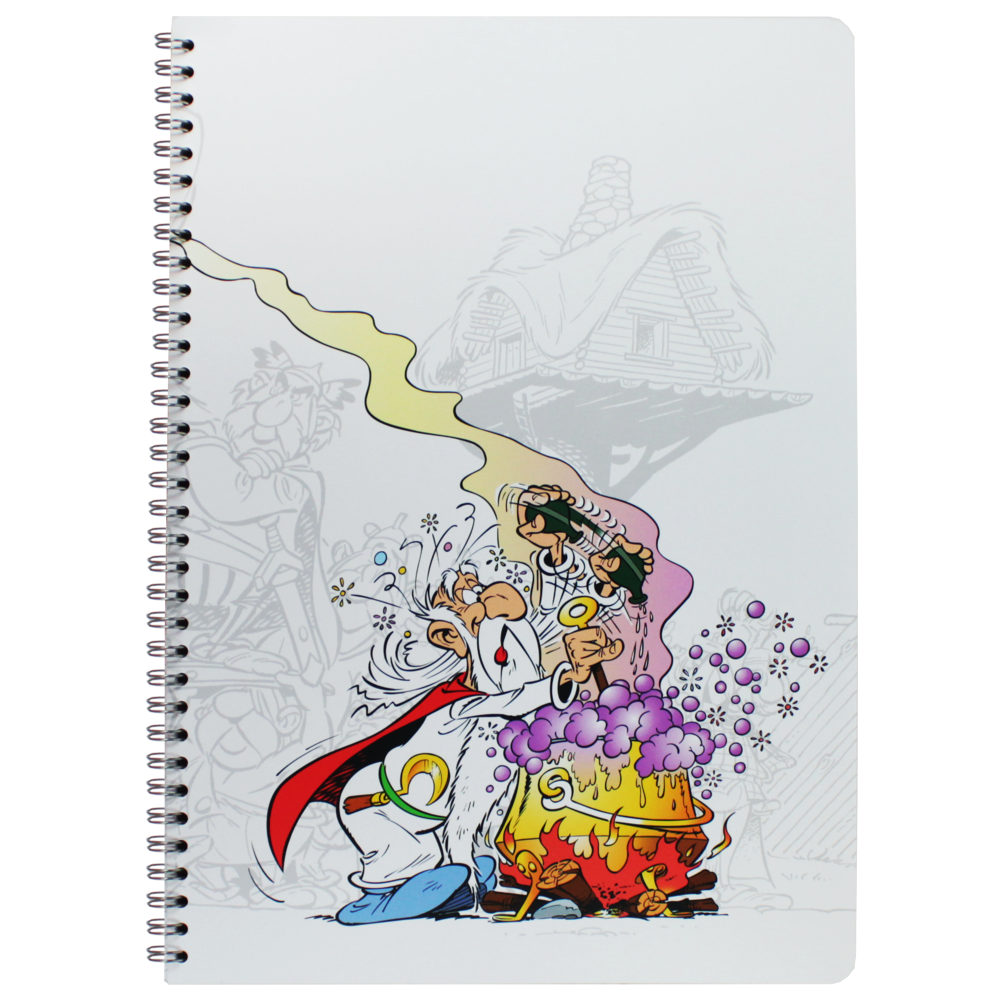 Caderno Clairefontaine A4 Asterix Panoramix