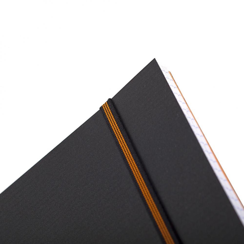 Caderno Rhodia Pro Book com Espiral Capa Preta A4+