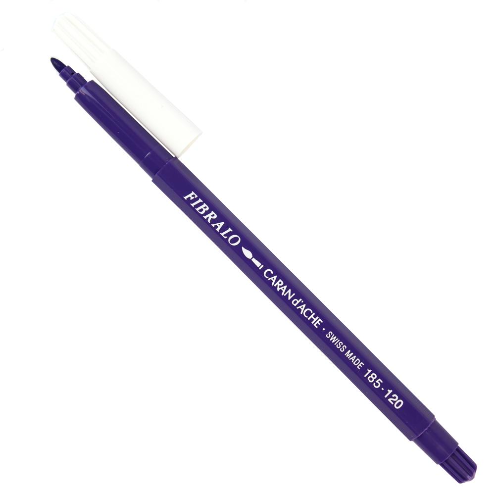 Caneta Aquarelável Caran d'Ache Fibralo 120 Violeta