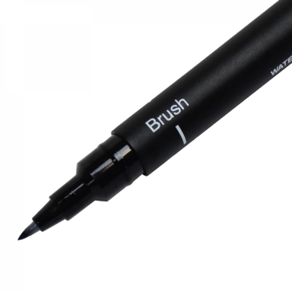 Caneta Nanquim Uni PIN 200 Uni-Ball Brush Preto