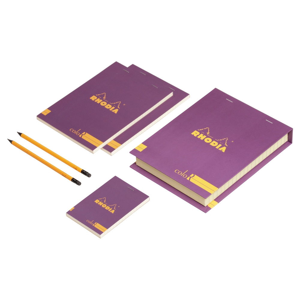 The Essential Color Box Rhodia Purple