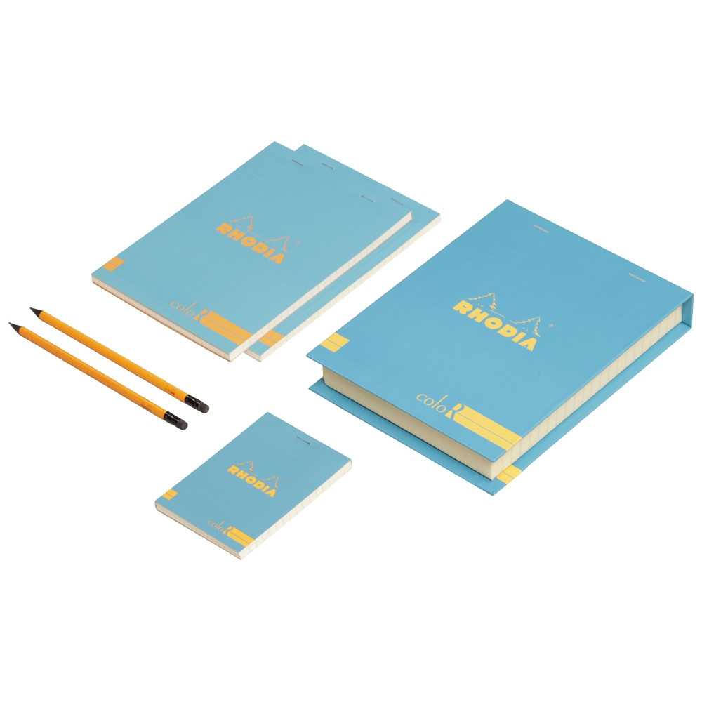 The Essential Color Box Rhodia Turquoise