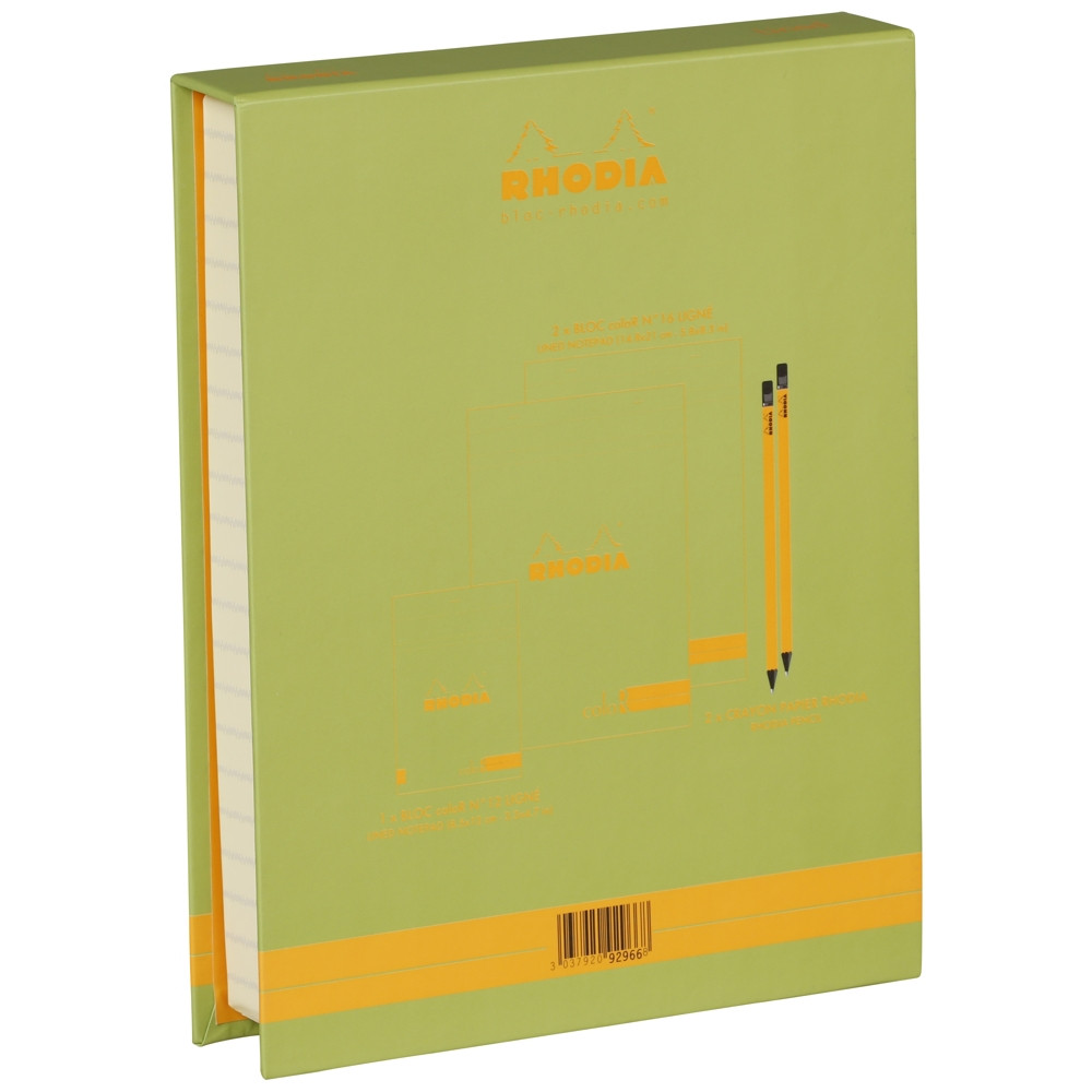 The Essential Color Box Rhodia Anise Green