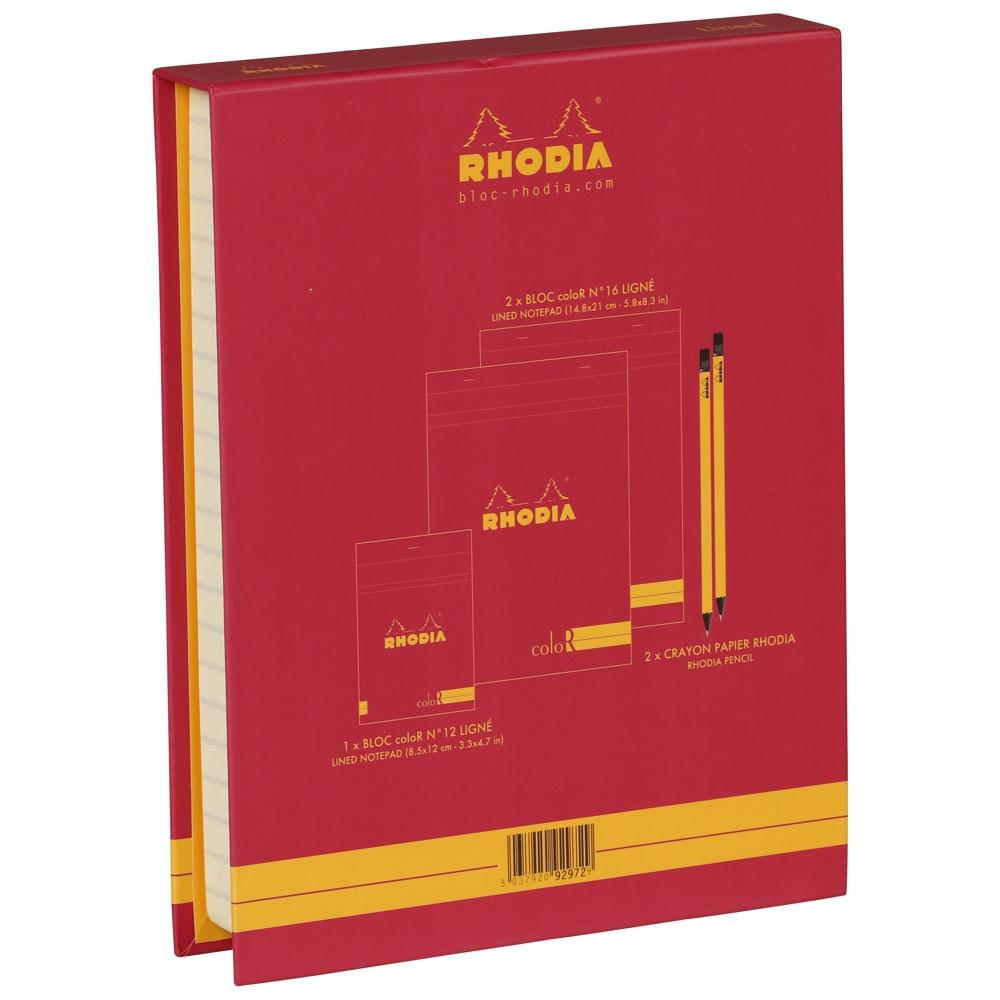 The Essential Color Box Rhodia Raspberry