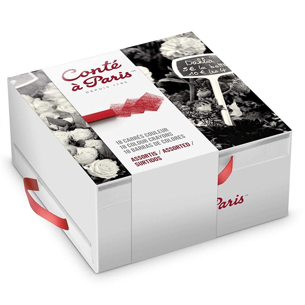 Pastel Seco Conté à Paris 18 Cores Gift Box