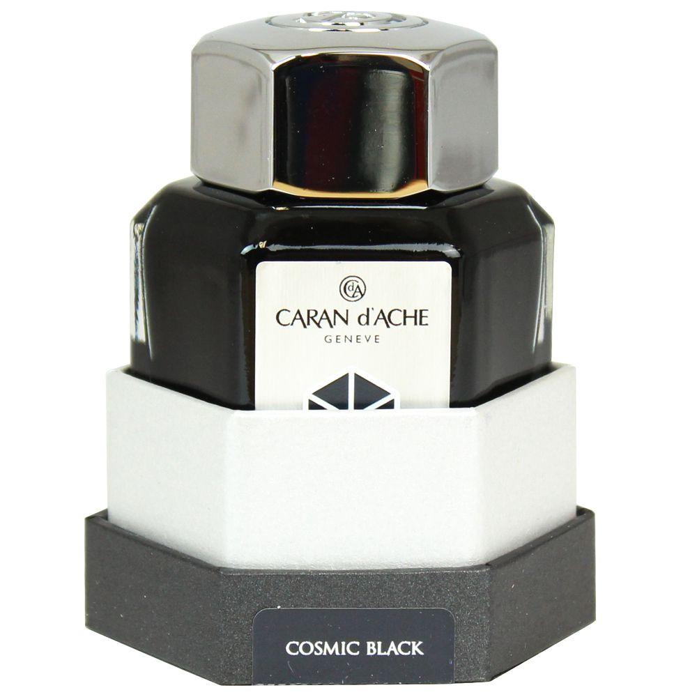 Tinta Para Caneta Tinteiro Caran d'Ache Chromatics Cosmic Black 50ml