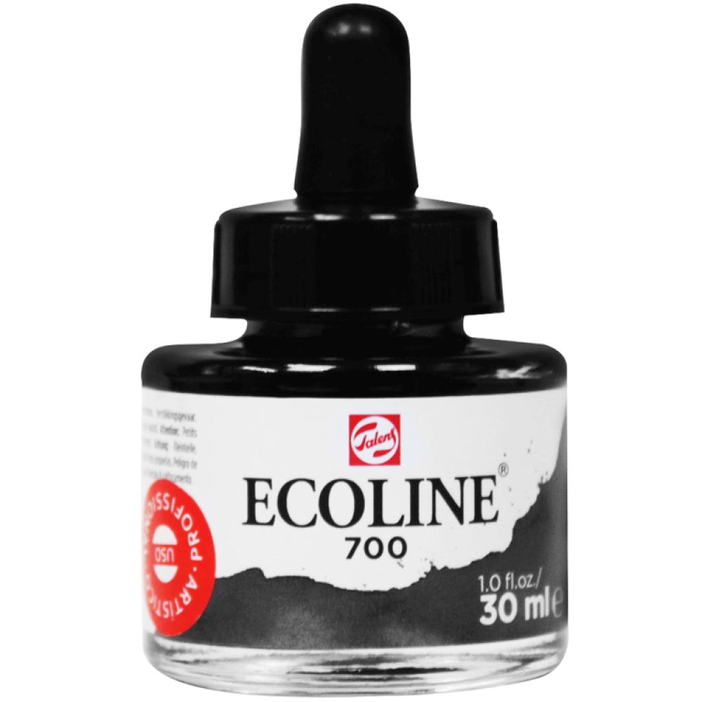 Tinta Ecoline Talens 30ml 700 Black