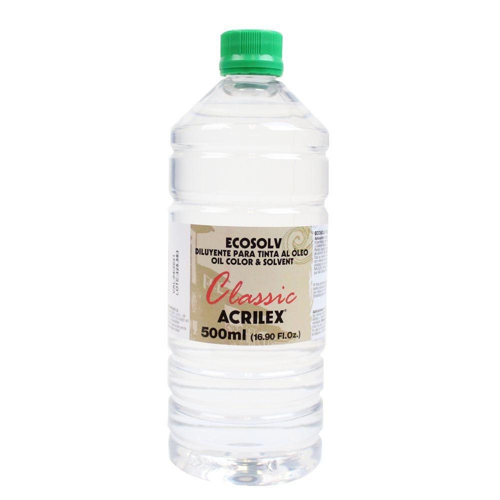 Diluente Ecosolv Acrilex 500ml