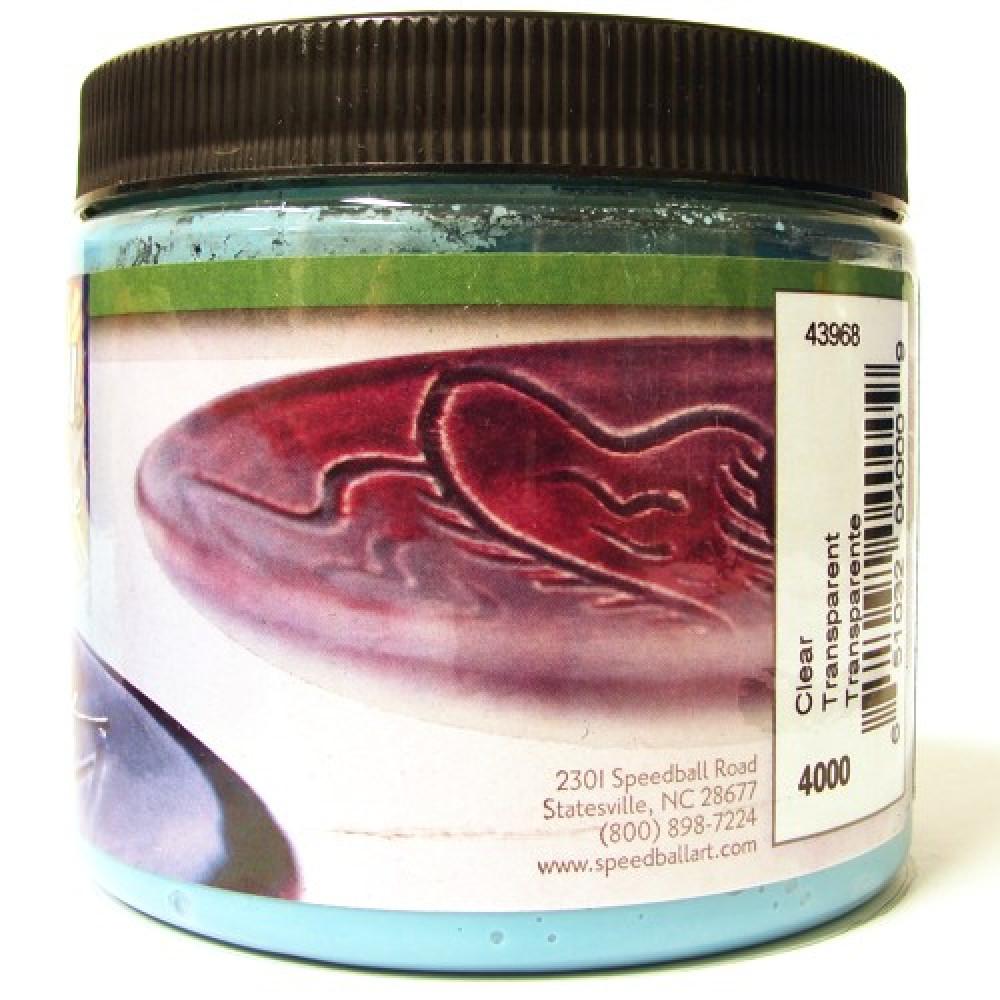 Esmalte Para Cerâmica Glaze Speedball 4000 Clear