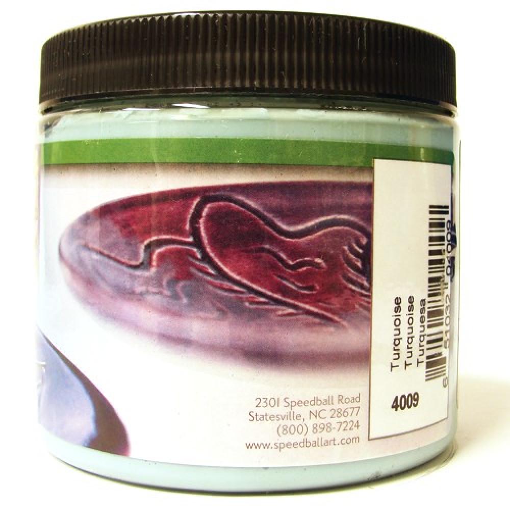 Esmalte Para Cerâmica Glaze Speedball 4009 Turquoise