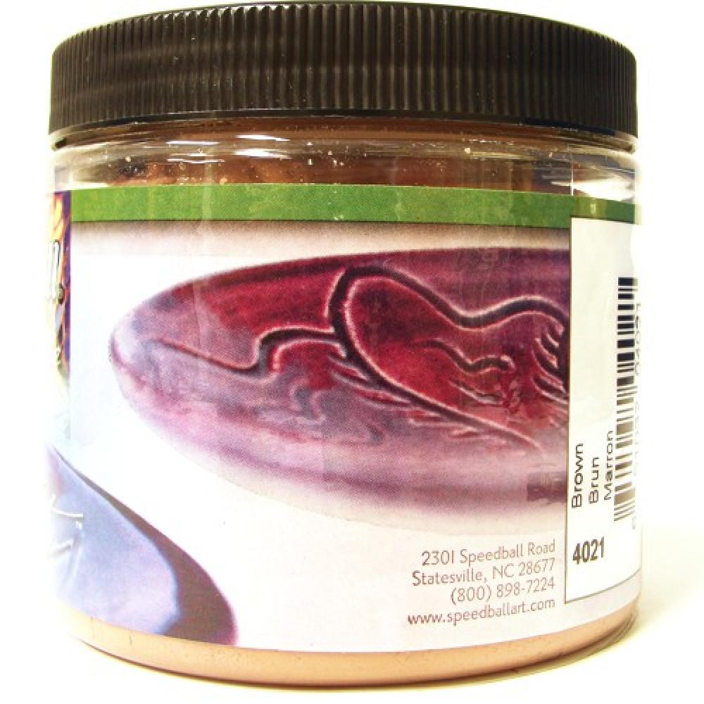 Esmalte Para Cerâmica Glaze Speedball 4021 Brown