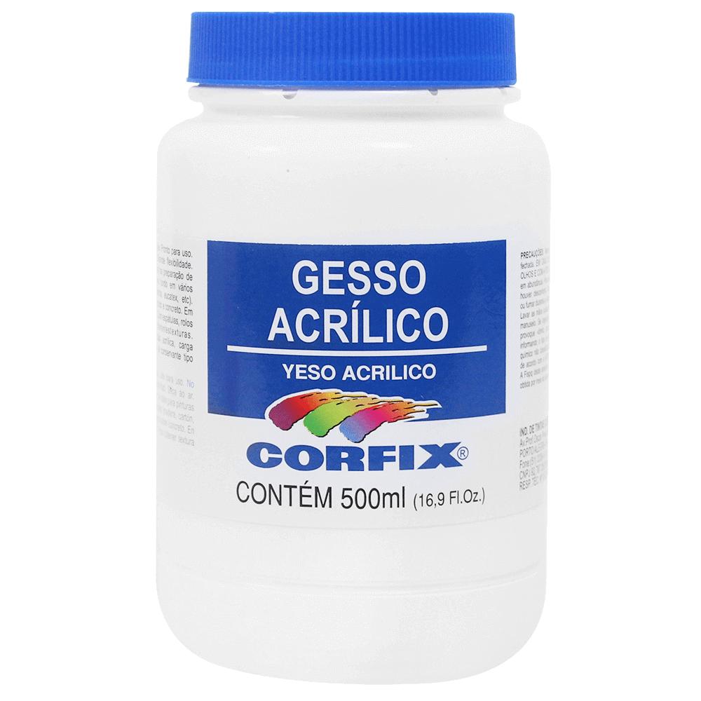 Gesso Acrílico Corfix 500ml
