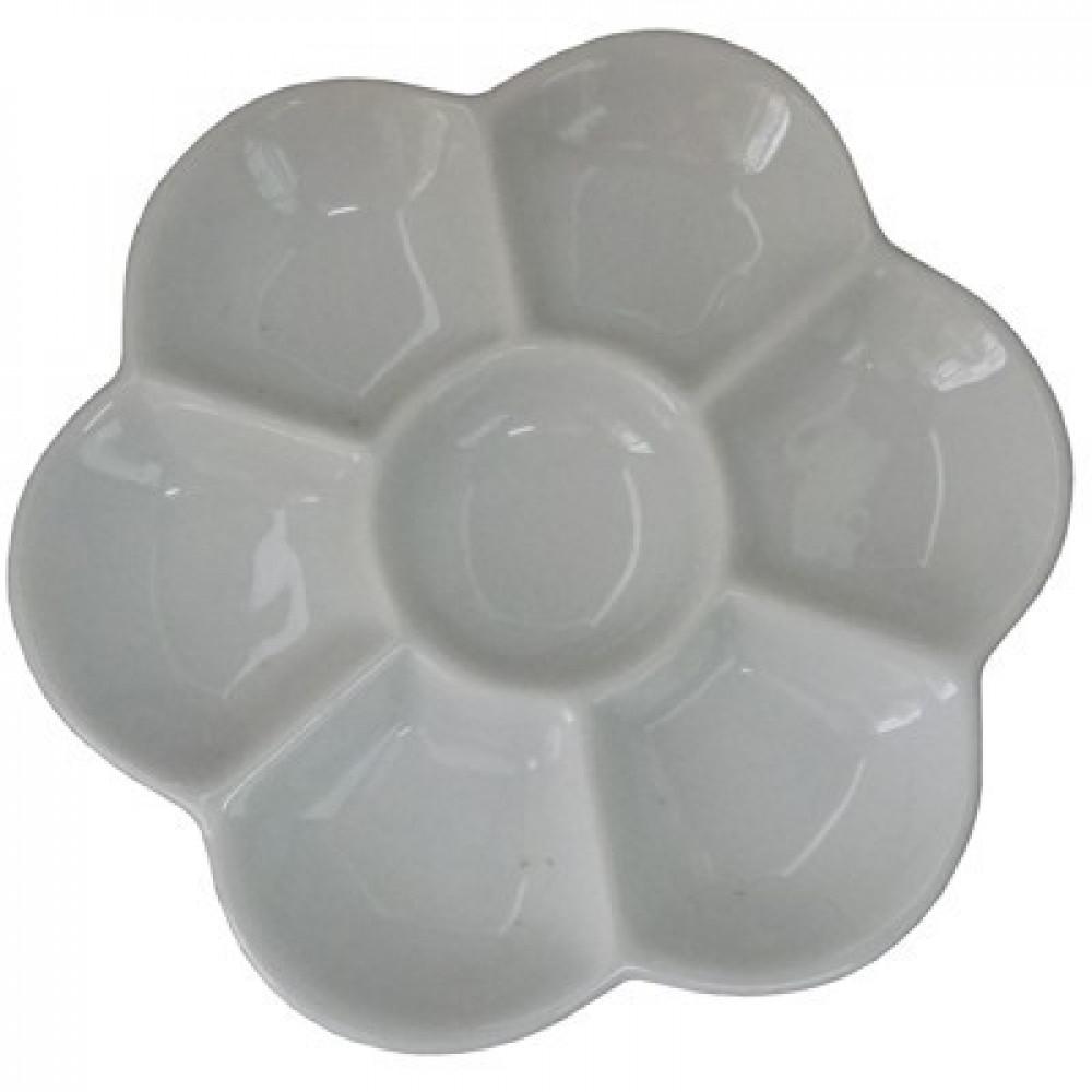 Godê de Porcelana com 07 Cavidades
