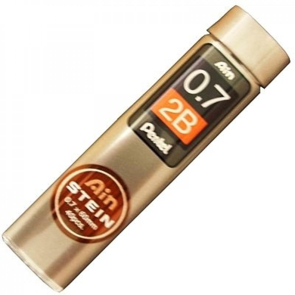 Grafite Pentel AIN STEIN 0.7mm 2B