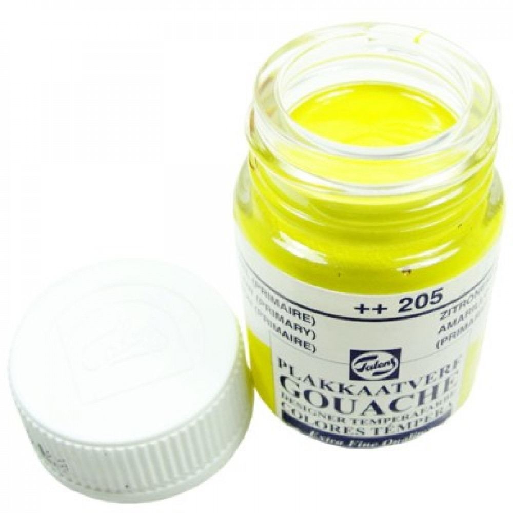 Tinta Guache Talens Extra Fine 16ml 205 Yellow Primary