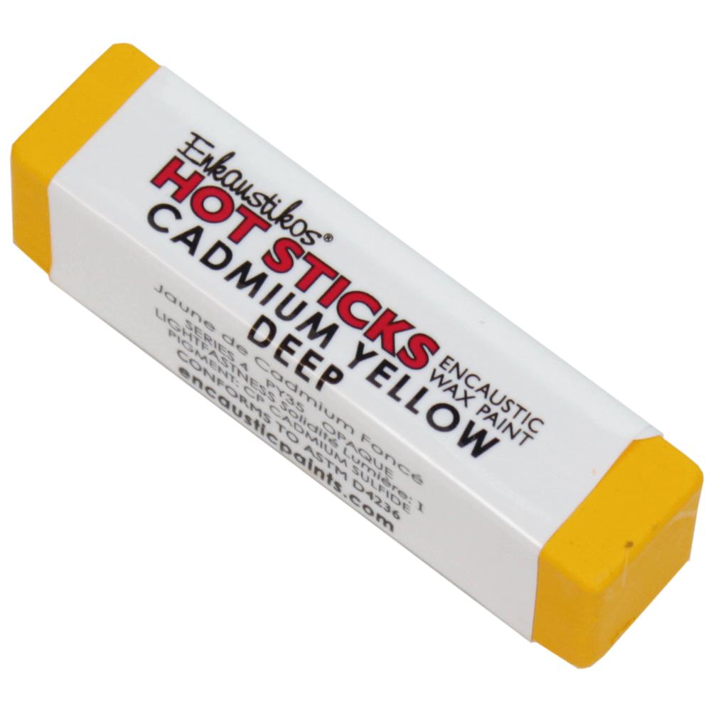 Bastão Para Encáustica G4 Cadmium Yellow Deep