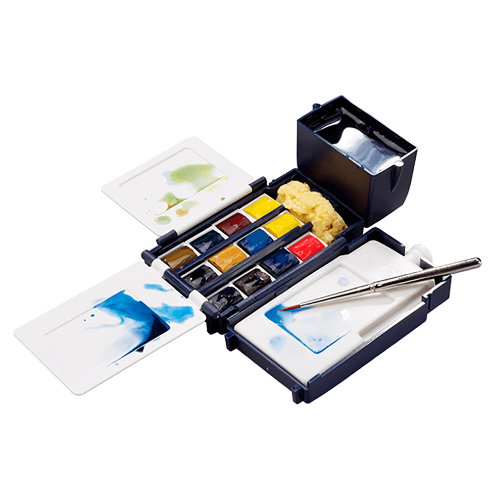Aquarela Winsor & Newton Cotman 12 Cores Field Box