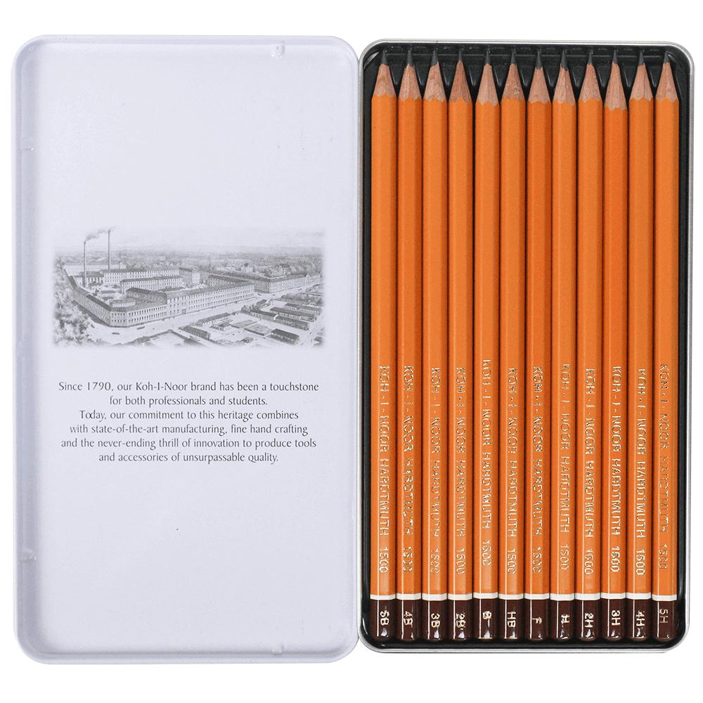 Estojo Lápis Para Desenho Koh-I-Noor 1502 III Graphic