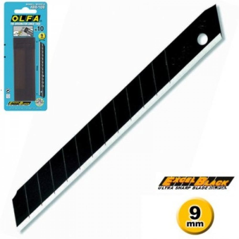 Lâmina Olfa ABB-10B Black