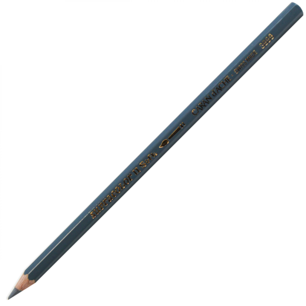 Lápis Aquarelável Caran d'Ache Supracolor Soft 007 Dark Grey