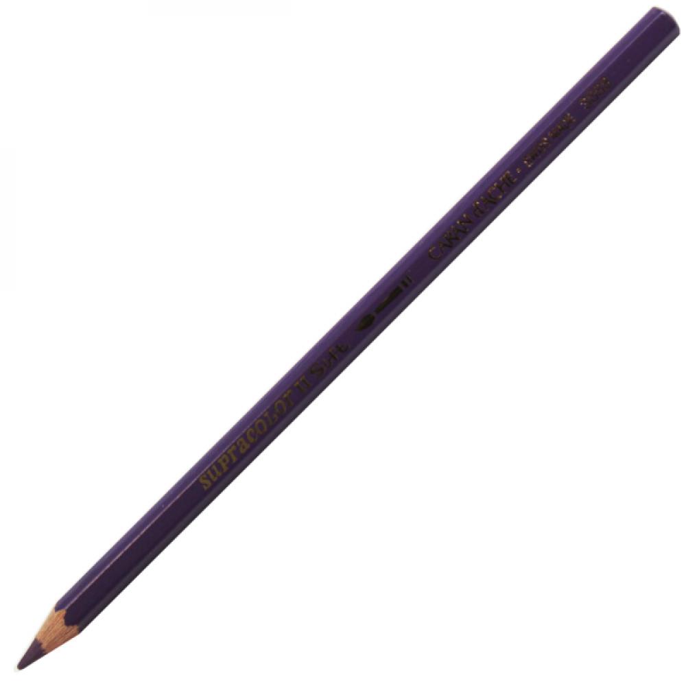 Lápis Aquarelável Caran d'Ache Supracolor Soft 099 Aubergine