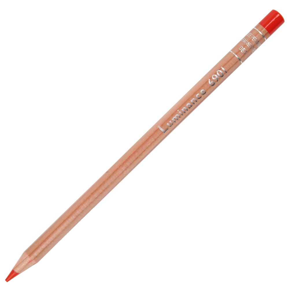Lápis de Cor Caran d'Ache Luminance 061 Permanent Red