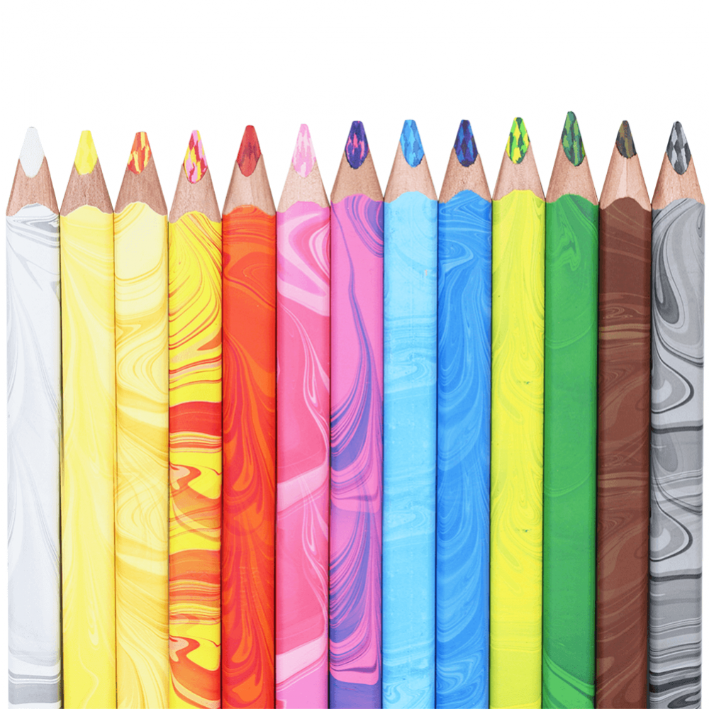 Estojo de Lápis Magic Koh-I-Noor 12 Cores