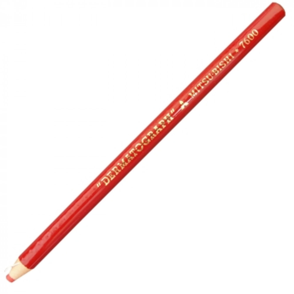 Lápis Dermatográfico Mitsubishi Vermelho