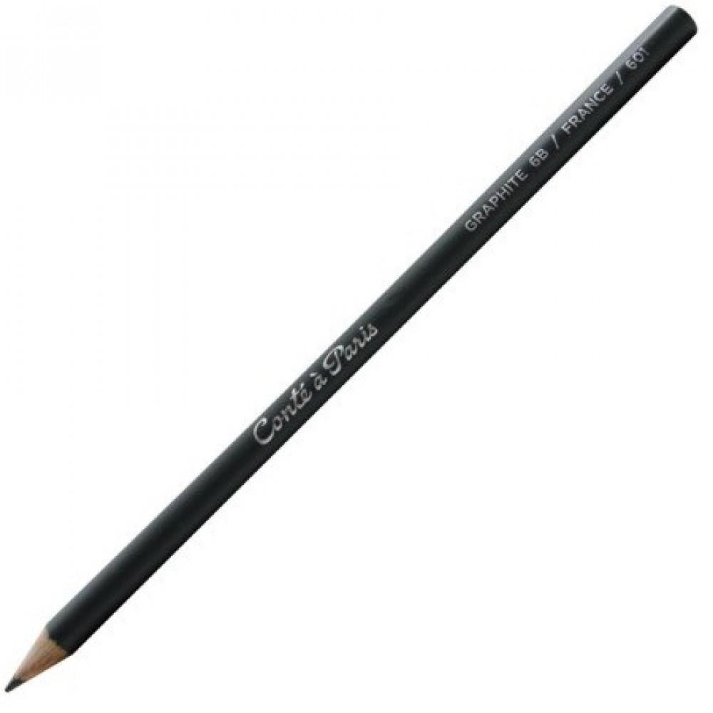 Lápis Graduado Para Desenho Conté 6B
