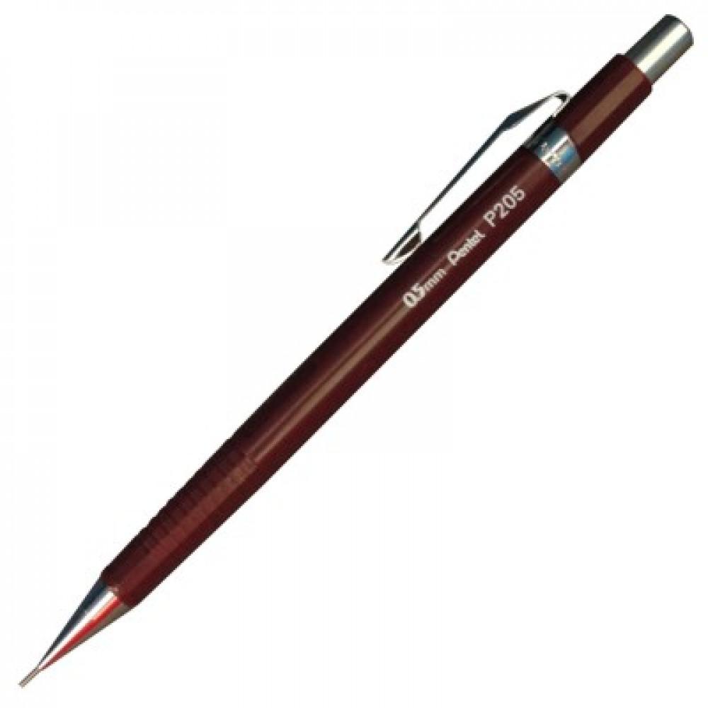 Lapiseira Pentel Sharp 0.5mm Vinho P205-B